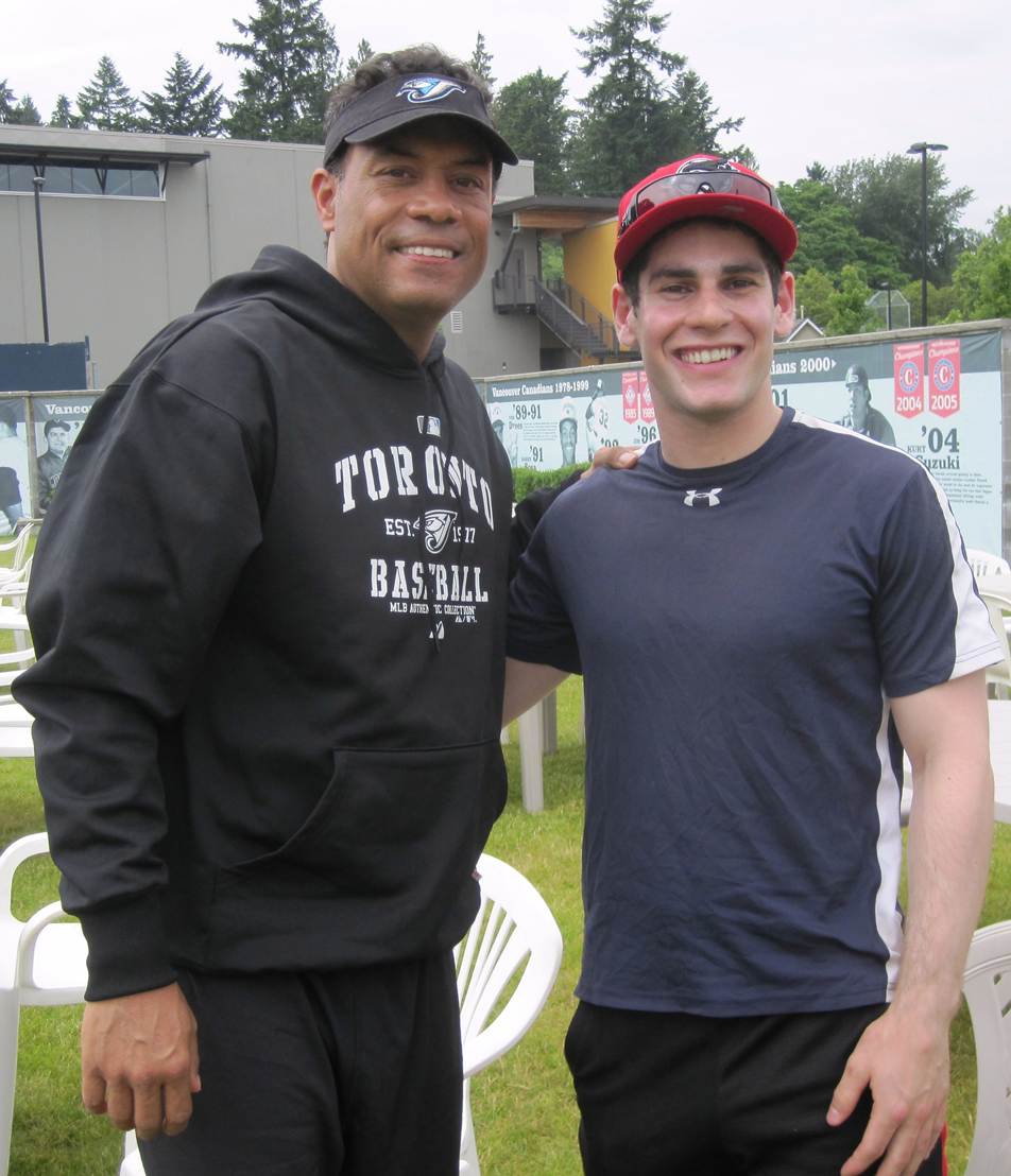 Paul Granat and Roberto Alomar
